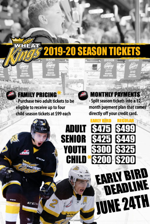 2019-20 Season ticket holder web page