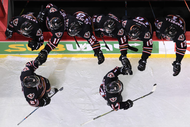 The Hitmen have gone 3/4 in their last two games while on the power play