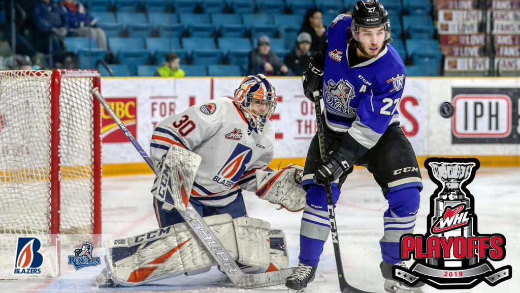 Royals Welcome Never-say-die Blazers For First Round Of
