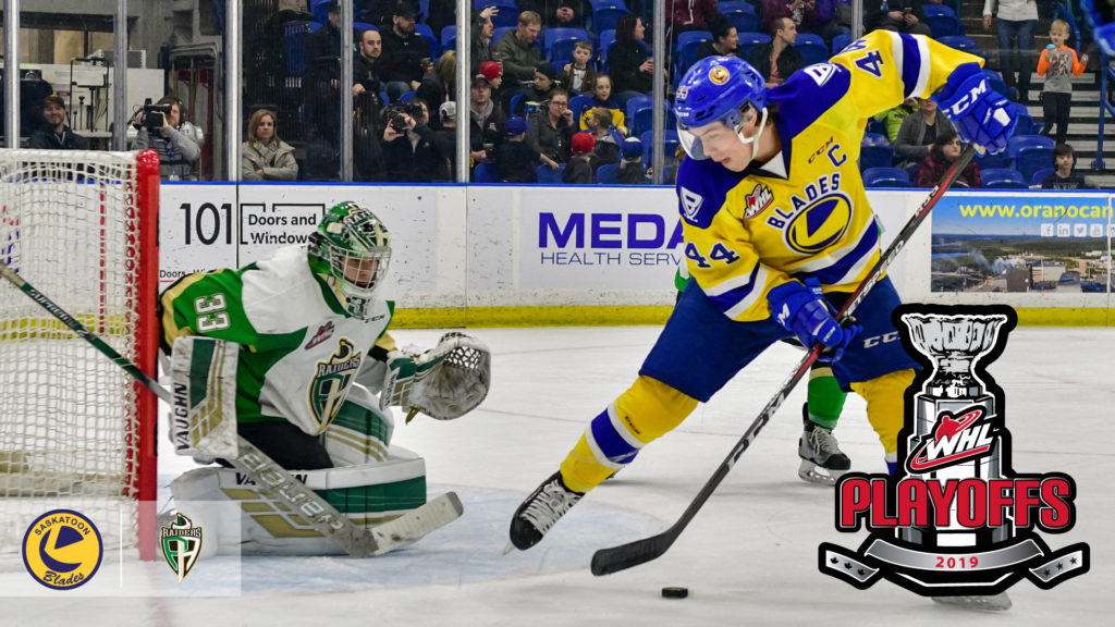 Raiders Collide With Blades In Second Round Of 2019