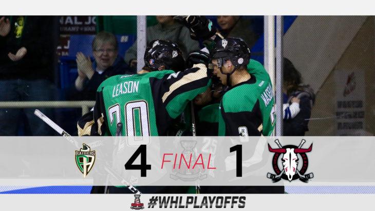 #WHLPlayoffs Tonight: March 27, 2019