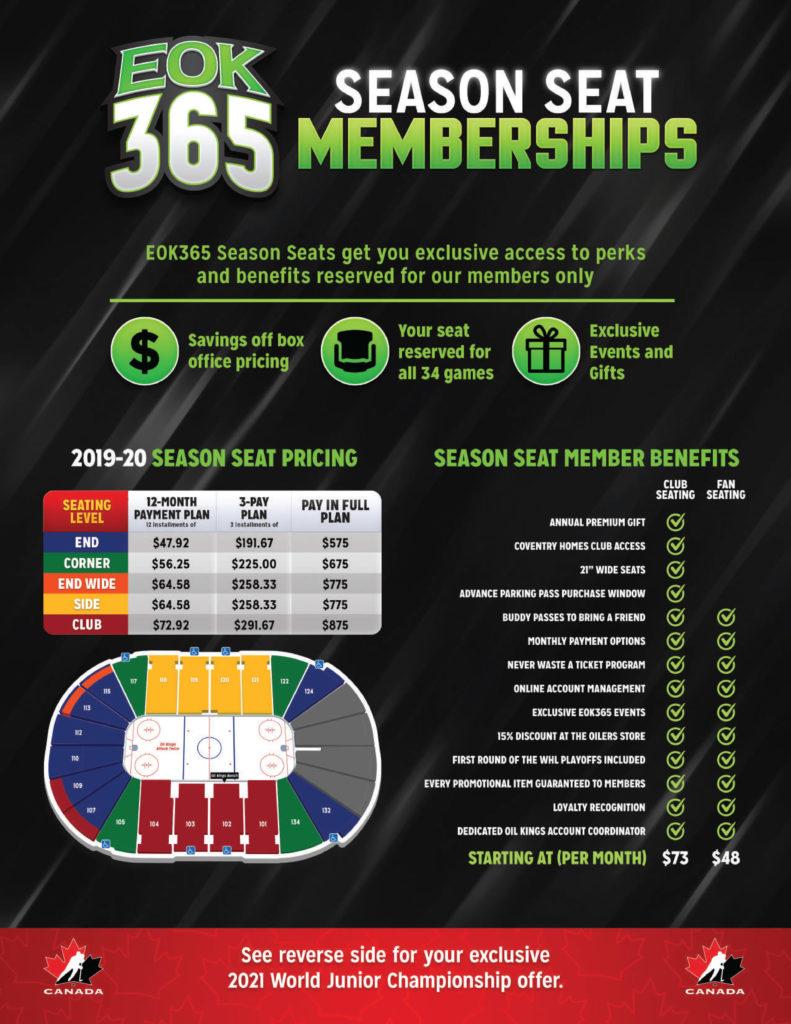 2019-20 EOK365 Season Seat Membership-1