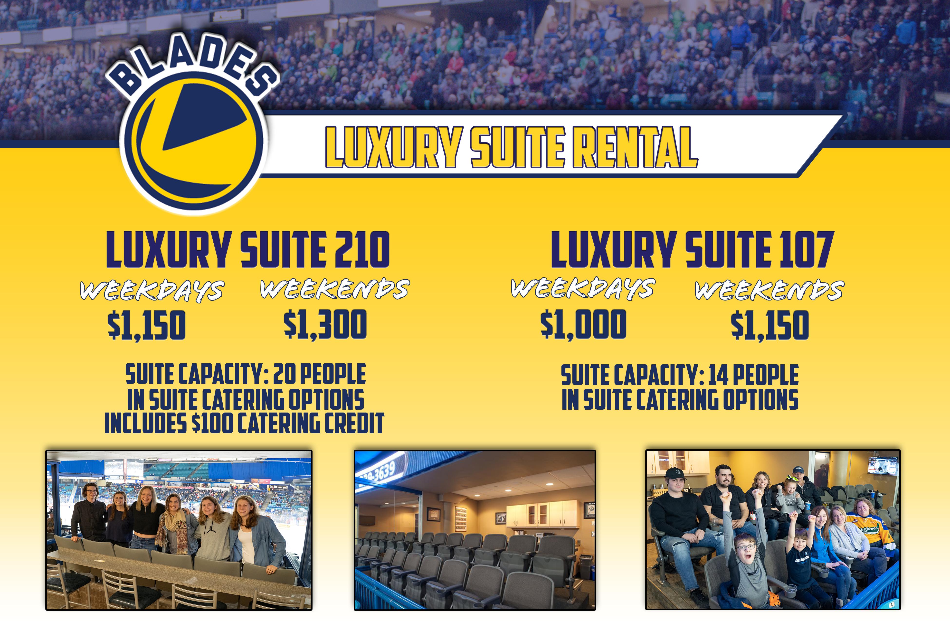 Luxury Suites - updated