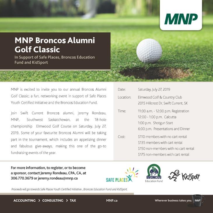 Broncos Golf Tournament - Updated