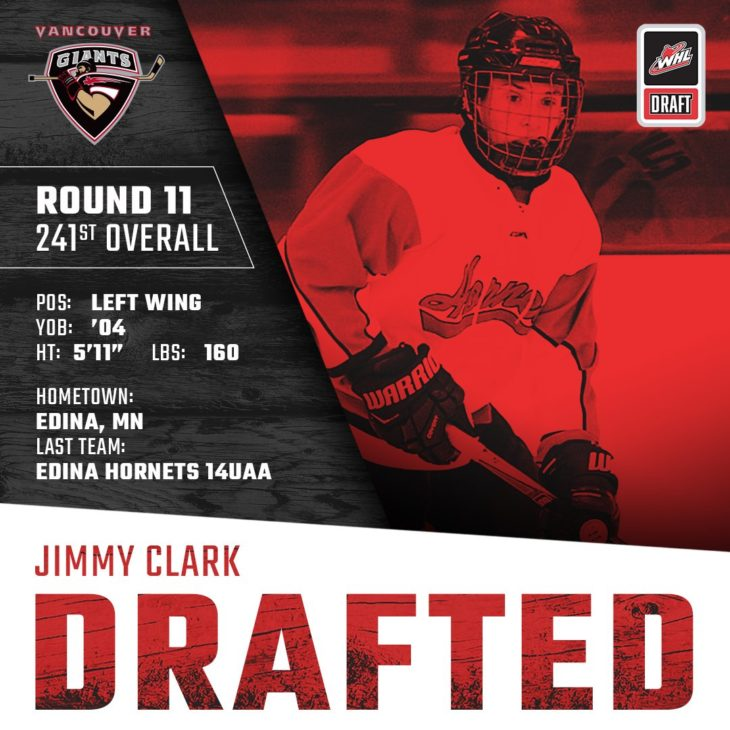 CLARK DRAFTED