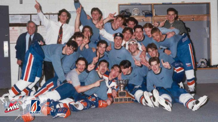 1994 WHL Champions – Kamloops Blazers