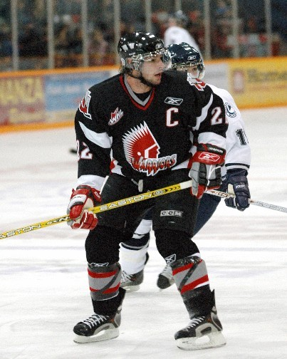 Future NHler Troy Brouwer was captain of the Moose Jaw Warriors when they last made it to the WHL Championship Series.
